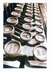 Dale Klein's vintage typewriter
