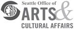 SeattleArts_logo_bw